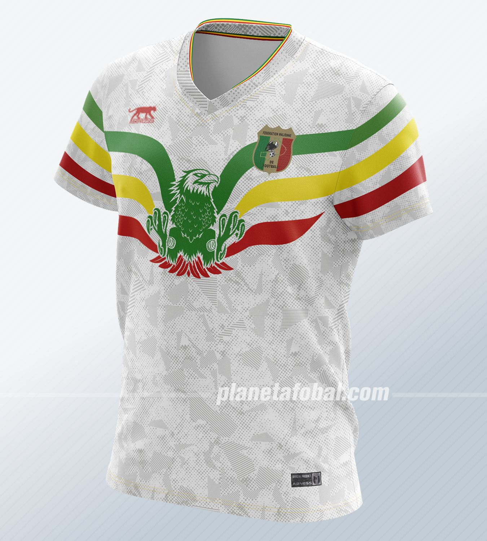 Camiseta alternativa de Mali 2019 | Imagen Airness