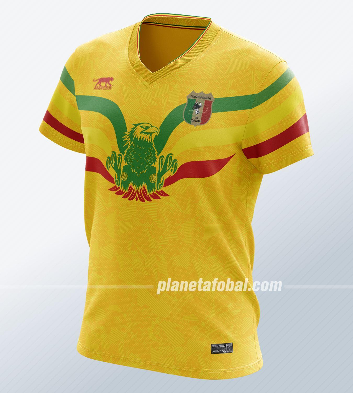 Camiseta titular de Mali 2019 | Imagen Airness