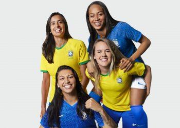 Camisetas de Brasil Mundial 2019 | Imagen Nike