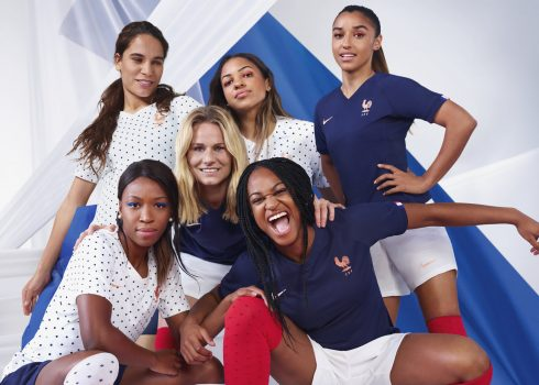 Camisetas de Francia Mundial 2019 | Imagen Nike