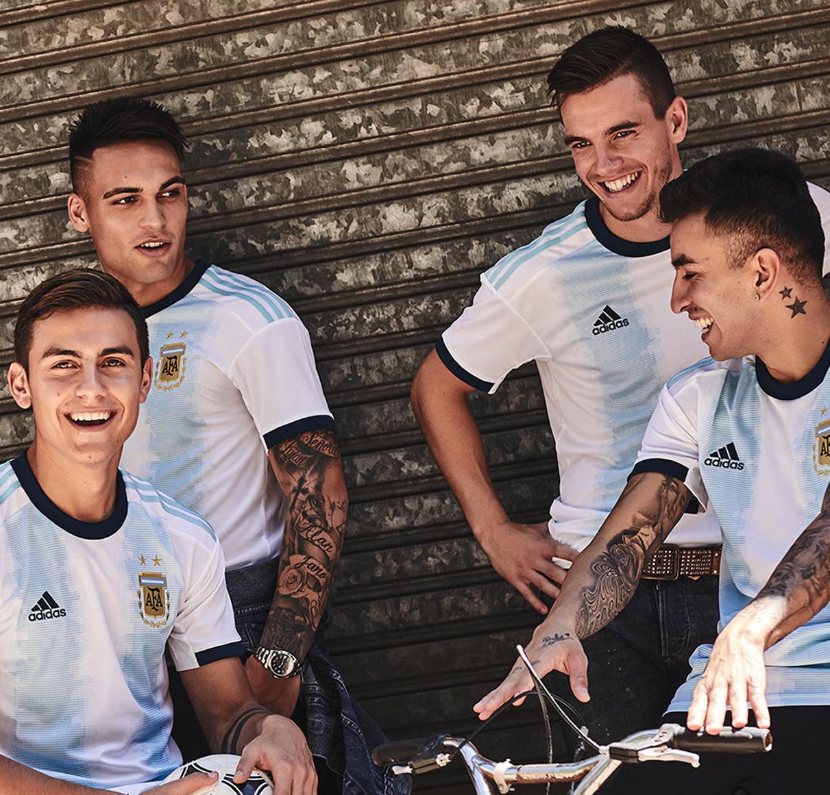 Nueva camiseta Adidas de Argentina Copa América 2019