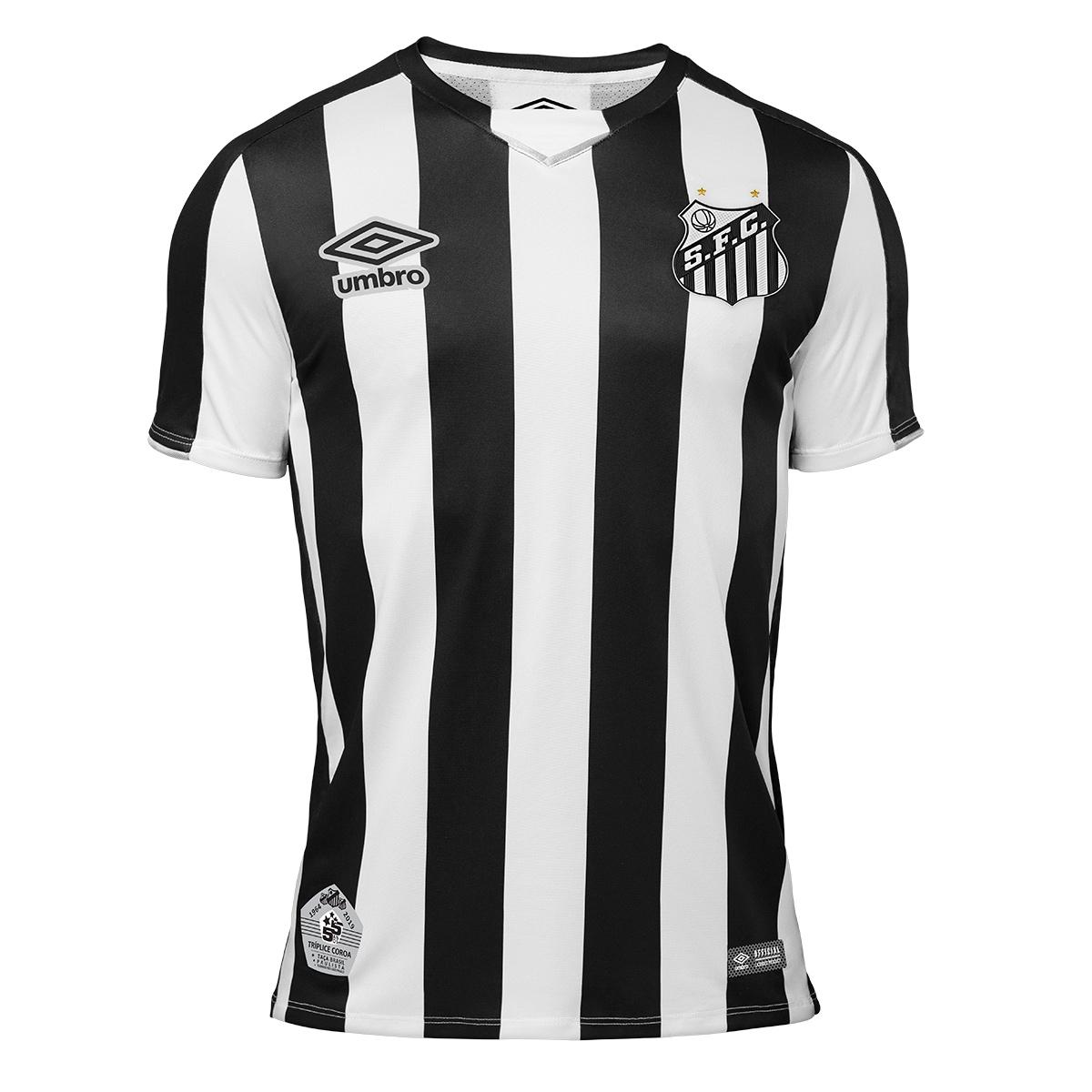 Camiseta suplente Umbro del Santos 2019 | Imagen Web Oficial