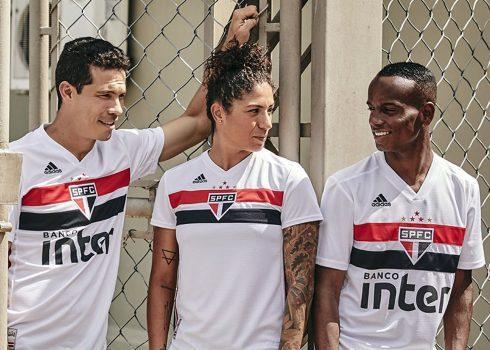 Camiseta titular del São Paulo FC 2019/20   Imagen Adidas