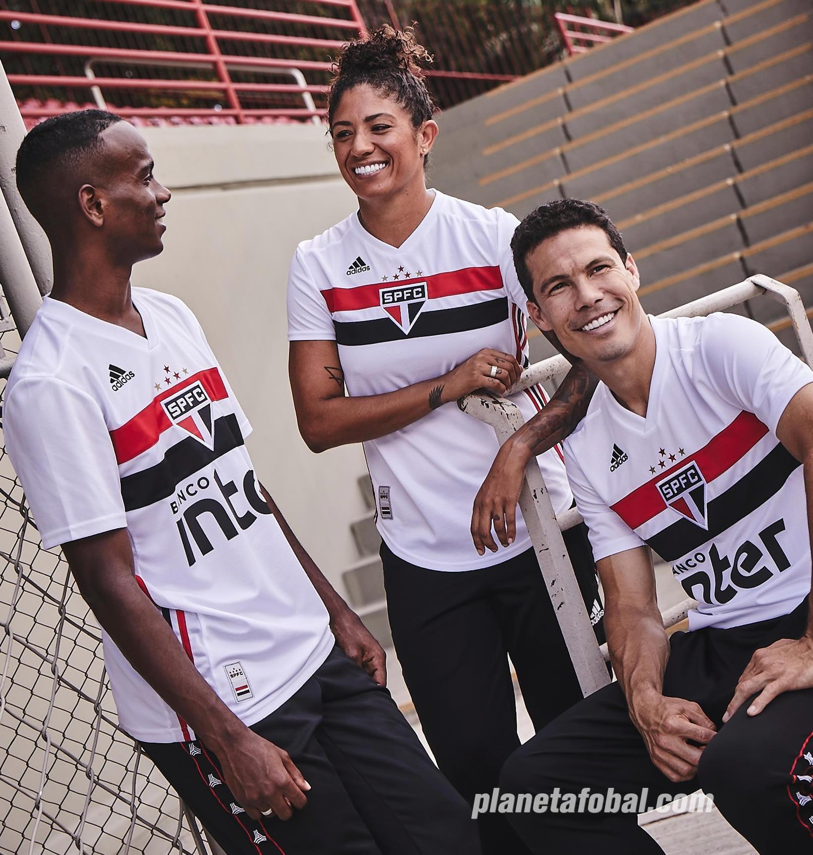 Camiseta titular del São Paulo FC 2019/20 | Imagen Twitter Oficial
