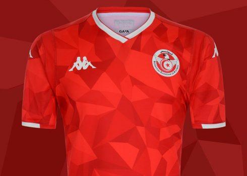 Camiseta Kappa de Túnez 2019 | Imagen FTF