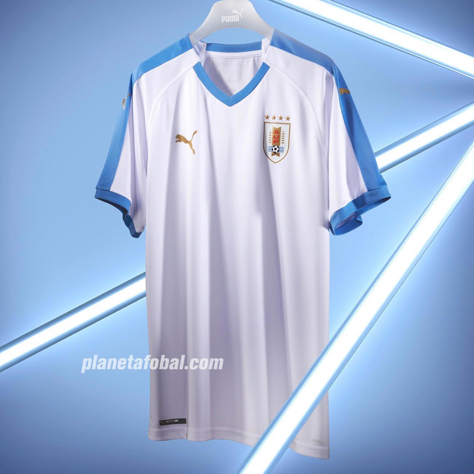 Camiseta suplente de Uruguay Copa América 2019 | Imagen Puma