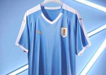 Camiseta titular de Uruguay Copa América 2019 | Imagen Puma