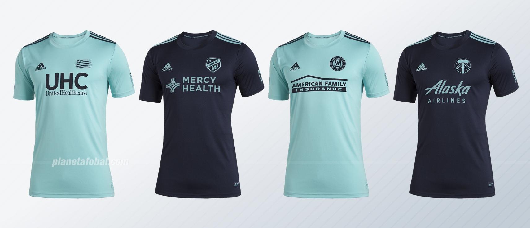 Tienda gran calidad compra original Camisetas Adidas de la MLS x PARLEY 2019
