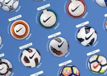 Todos los balones Nike de LaLiga (1996-2019) | @planetafobal