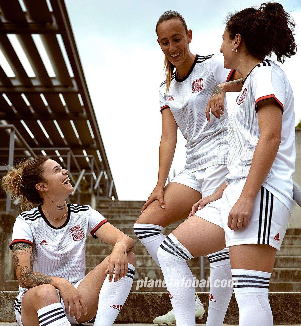 Camiseta suplente Adidas de España Mundial 2019 | Imagen RFEF
