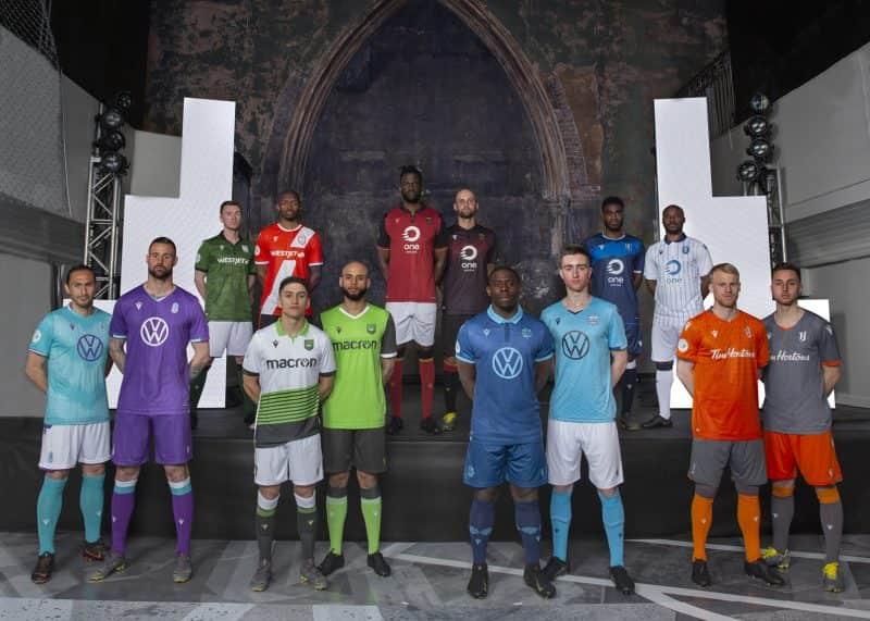 Camisetas de la Premier League de Canadá 2019 | Imagen CANPL