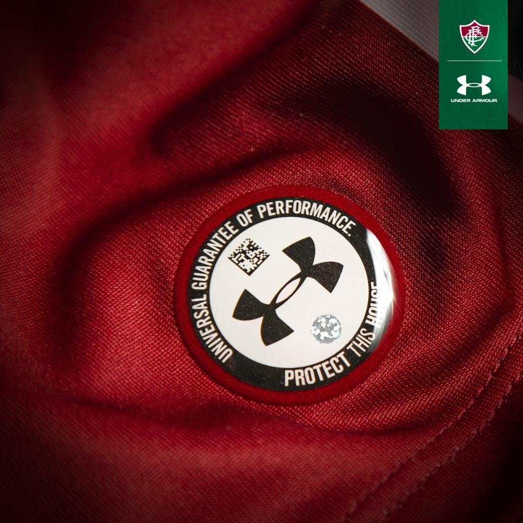 Camiseta titular del Fluminense 2019/20 | Imagen Under Armour