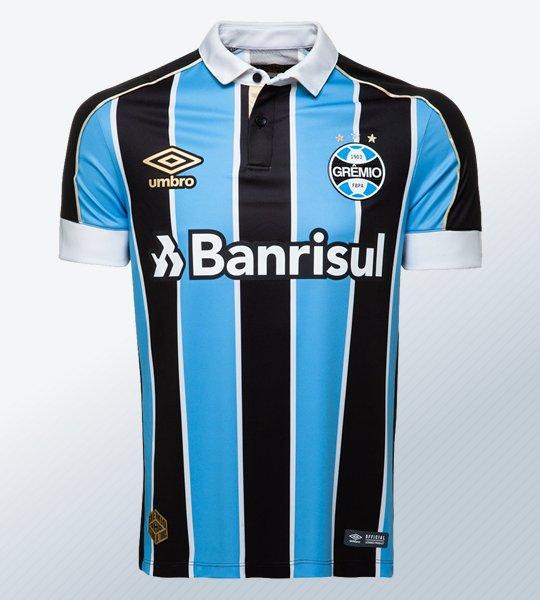 Camiseta titular Umbro del Grêmio 2019/20 | Imagen Web Oficial