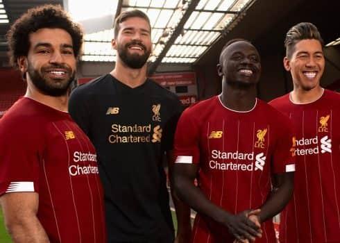 Camiseta titular del Liverpool 2019/2020 | Imagen New Balance