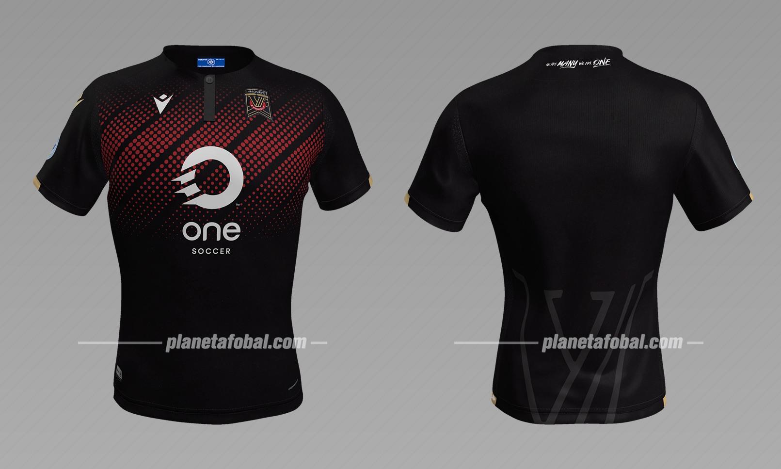 Camiseta suplente Macron 2019 del Valour FC  | Imagen CANPL