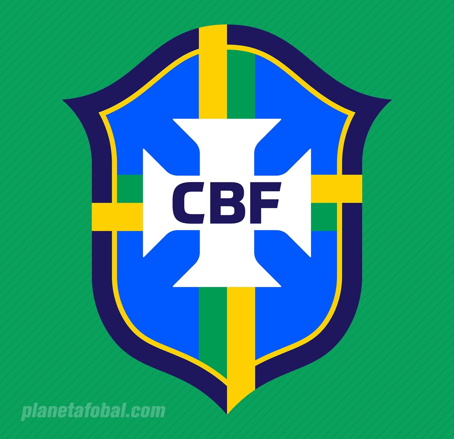 El logo sin estrellas y sin el nombre del país lo usará la CBF   Imagen Web Oficial