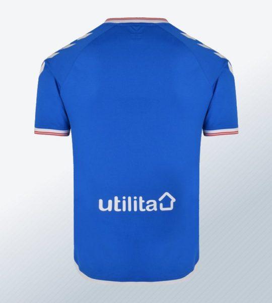 Camiseta titular del Rangers FC 2019/20 | Imagen Hummel