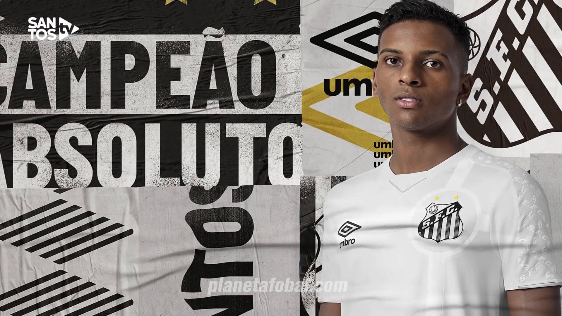 Camiseta titular Umbro del Santos 2019/2020 | Imagen Web Oficial