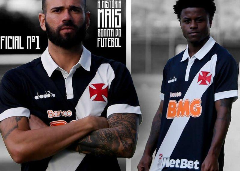 Camiseta Diadora del Vasco Da Gama 2019/20 | Imagen Twitter Oficial