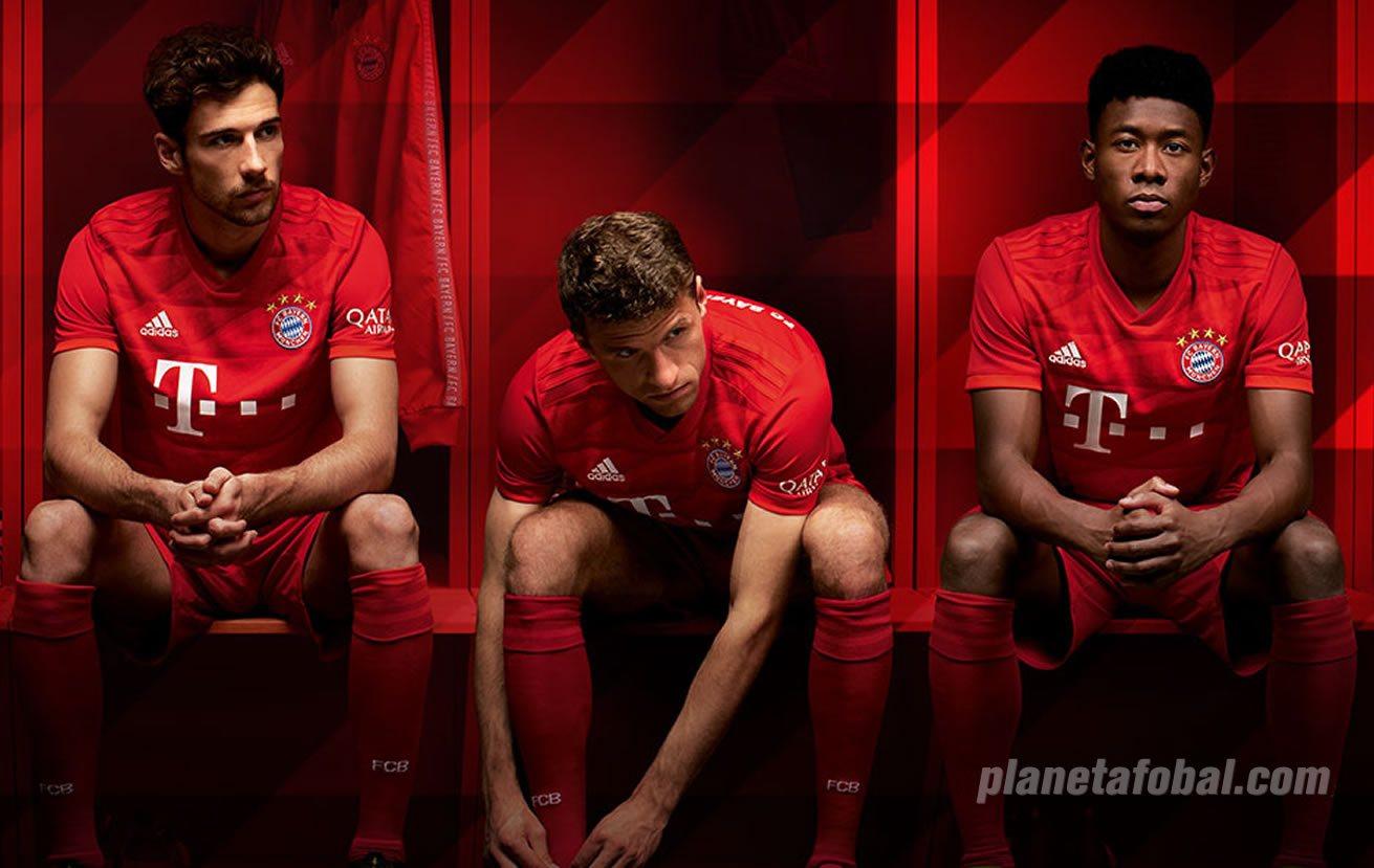 Nueva camiseta titular Adidas del Bayern Munich 2019/2020 | Imagen Web Oficial
