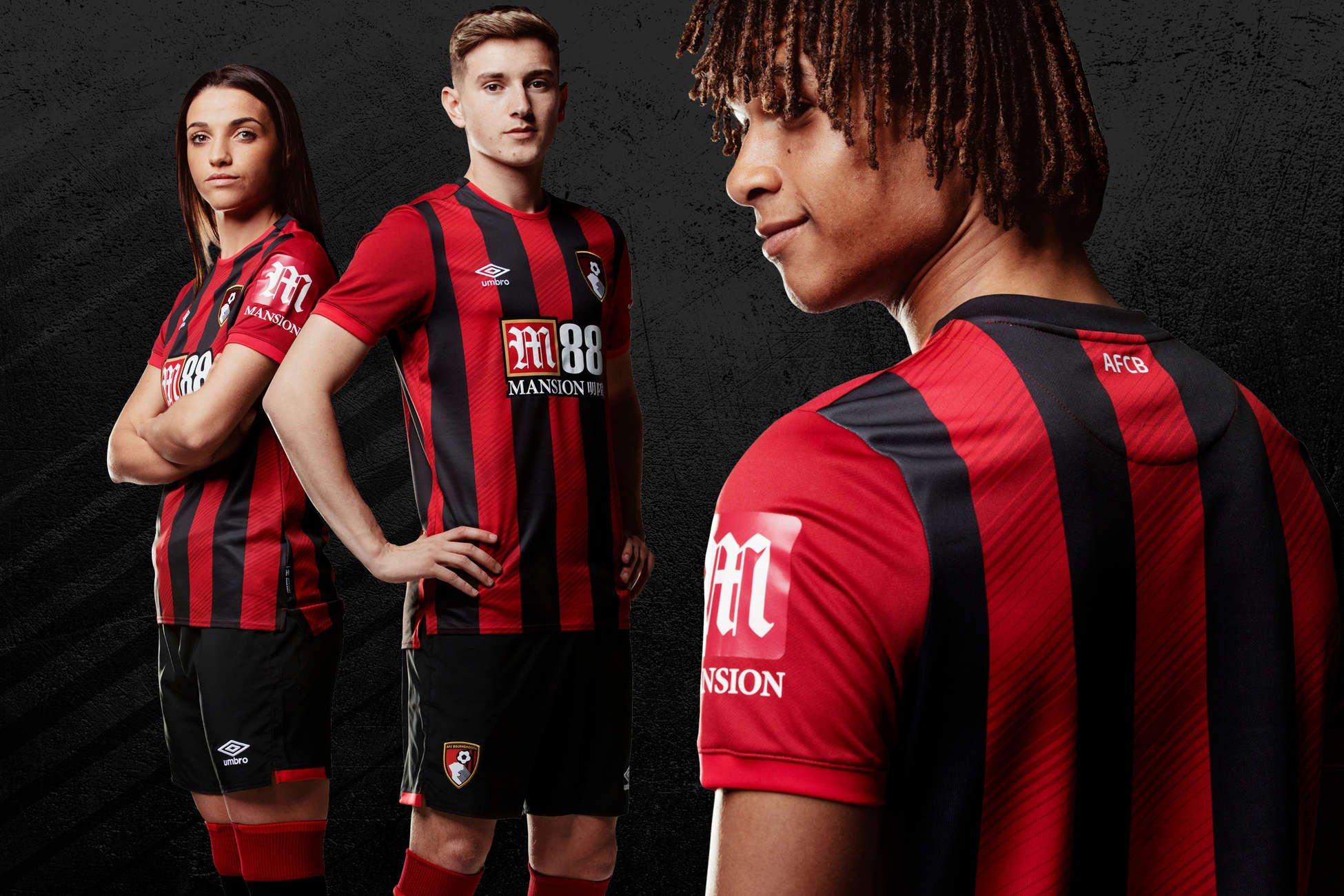 Camiseta titular Umbro del AFC Bournemouth 2019/20 | Imagen Web Oficial
