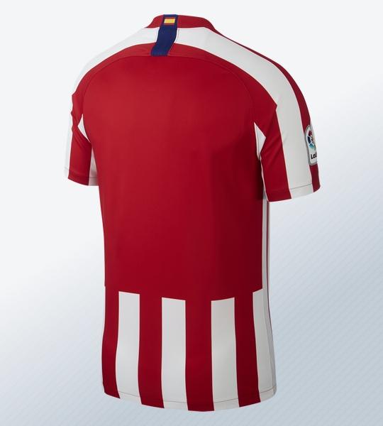 Equipación titular del Atlético de Madrid Temporada 2019/20 | Imagen Nike