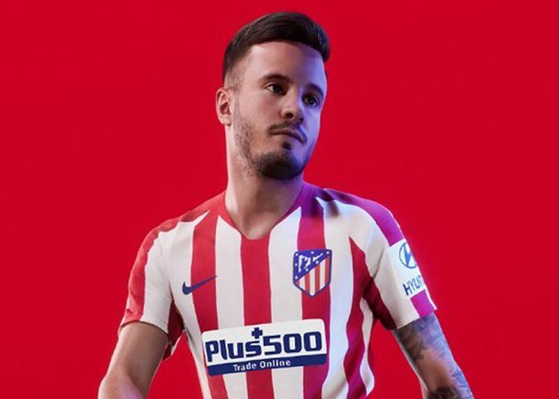 Equipación titular del Atlético de Madrid Temporada 2019/20   Imagen Nike