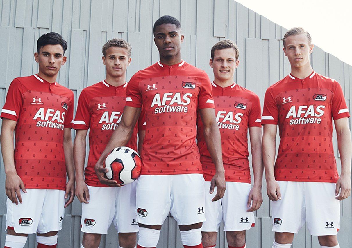 Camiseta titular Under Armour del AZ Alkmaar 2019/20 | Imagen Web Oficial