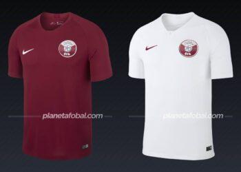 Catar (Nike) | Camisetas de la Copa América 2019