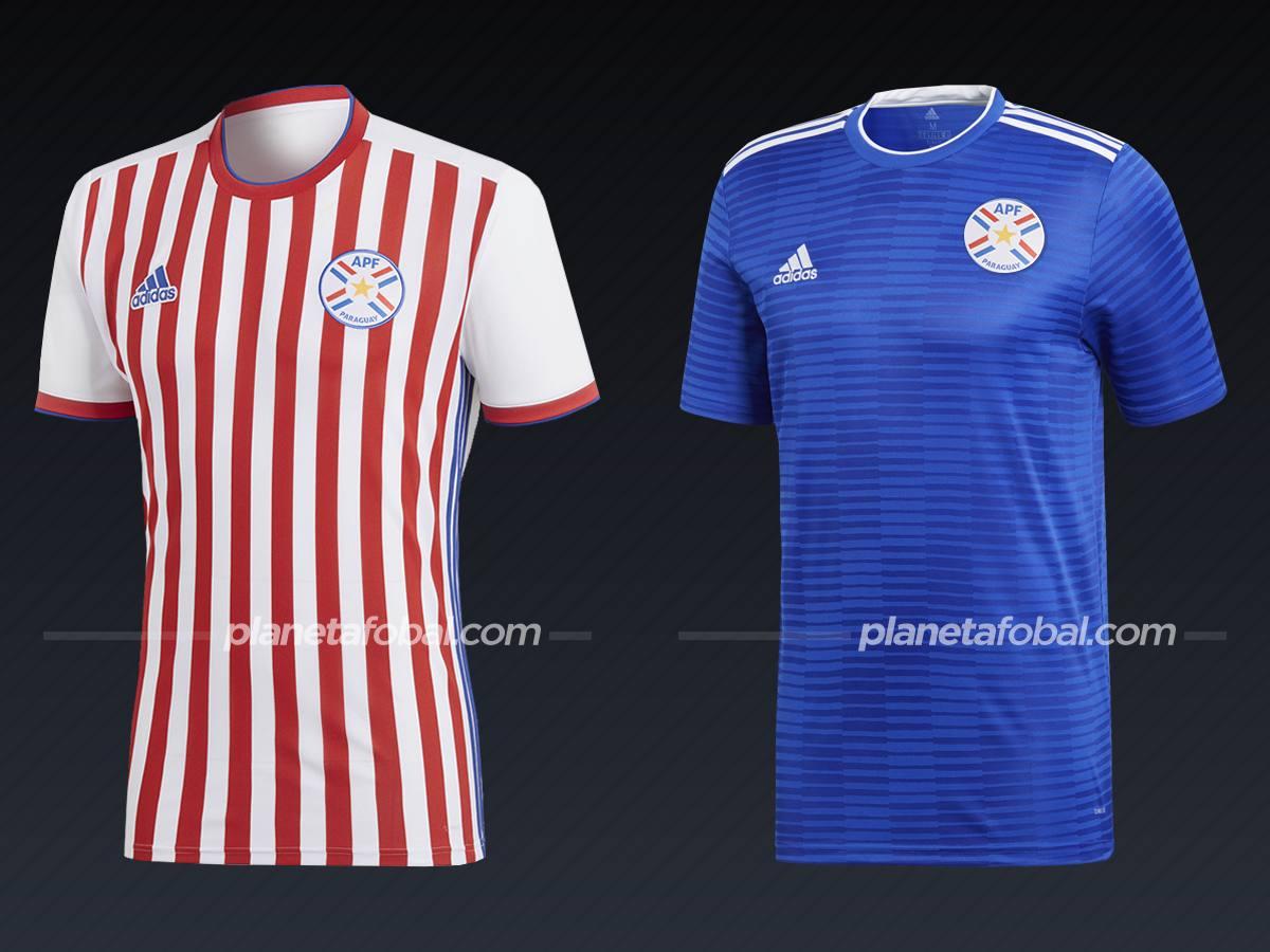 Paraguay (Adidas) | Camisetas de la Copa América 2019