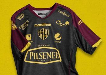 Camiseta por los 94 años del Barcelona SC | Imagen Marathon
