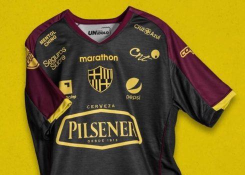 Camiseta por los 94 años del Barcelona SC   Imagen Marathon