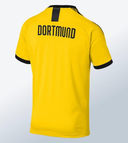 Camiseta titular del Borussia Dortmund 2019/2020 | Imagen Puma