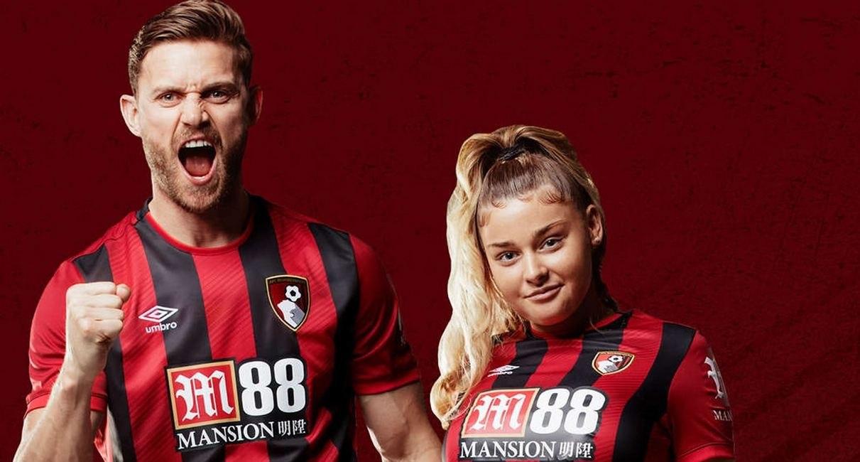 Bournemouth (Umbro) | Camisetas de la Premier League 2019-2020