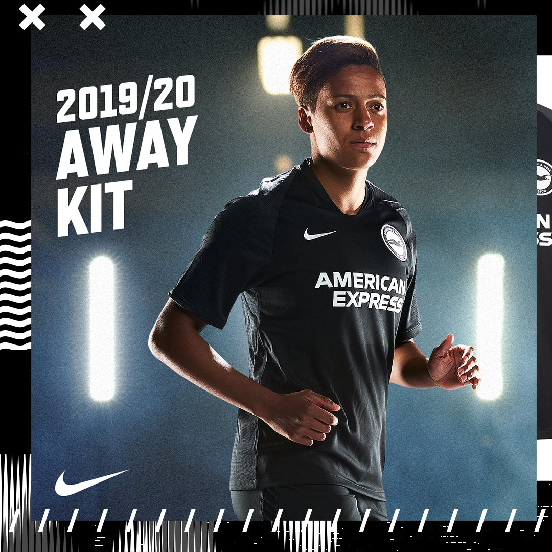 Camiseta suplente Nike del Brighton & Hove Albion 2019/20 | Imagen Web Oficial