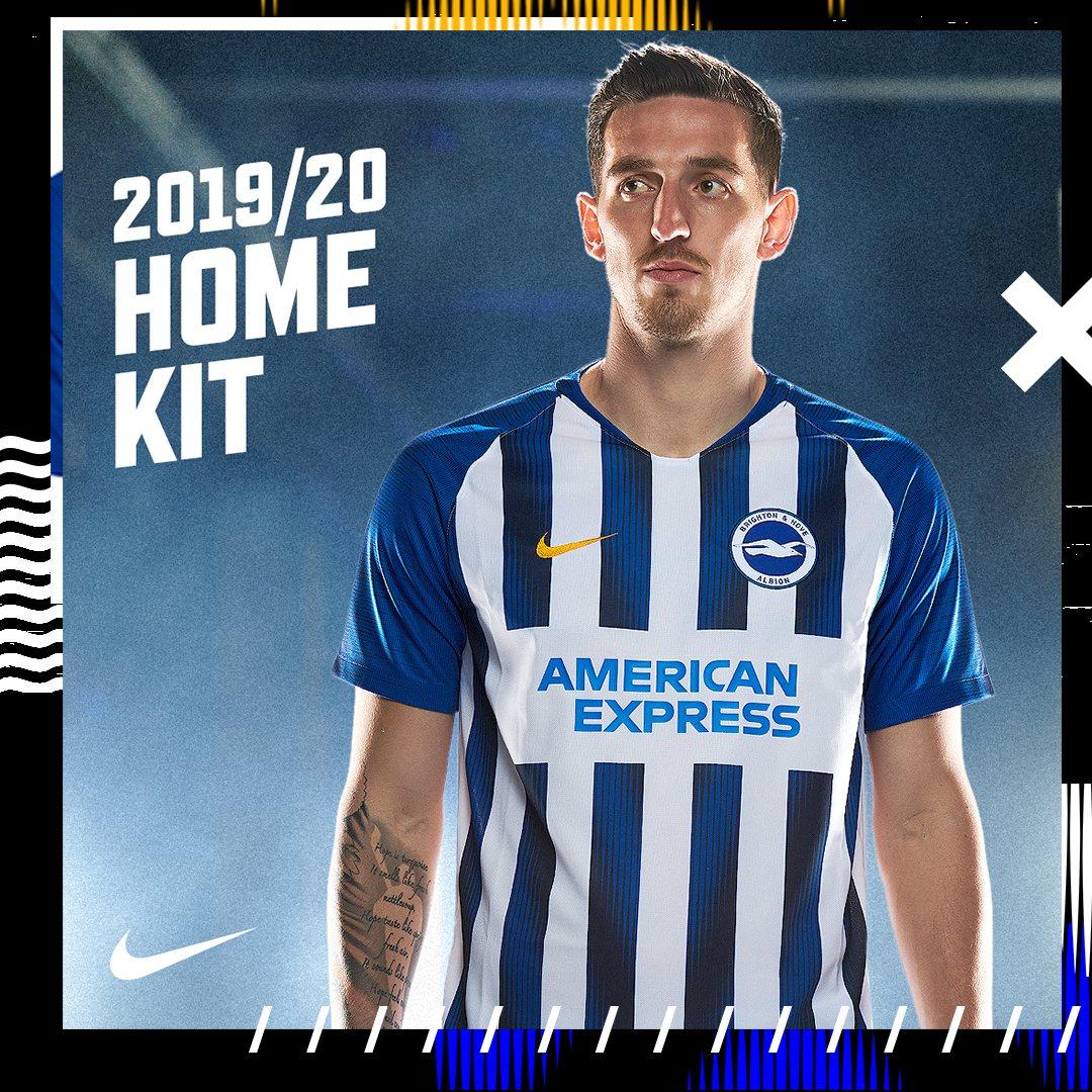 Camiseta titular Nike del Brighton & Hove Albion 2019/20 | Imagen Web Oficial