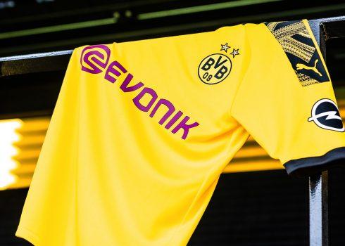 Nueva camiseta titular del BVB 2019/20 | Imagen Puma