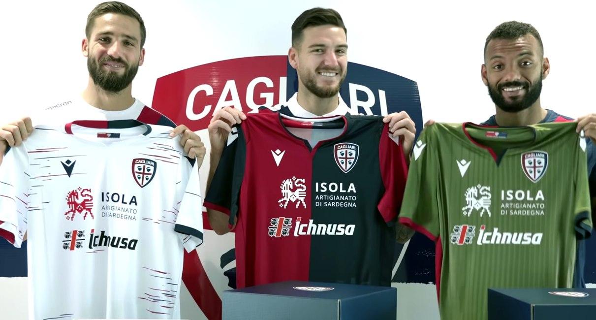 Cagliari (Macron) | Camisetas de la Serie A 2019-2020