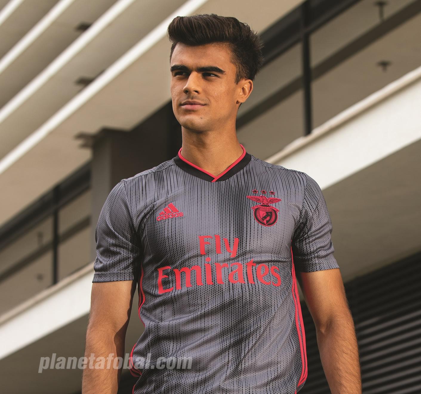 Camiseta suplente del Benfica 2019/20 | Imagen Adidas