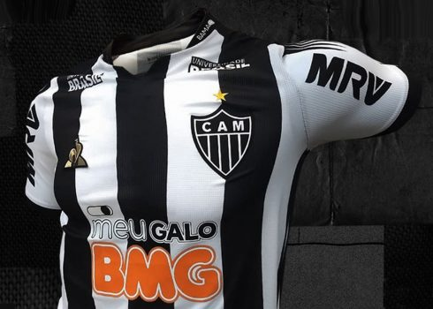 Camisetas le coq sportif del Atlético Mineiro 2019/20   Imagen Twitter Oficial