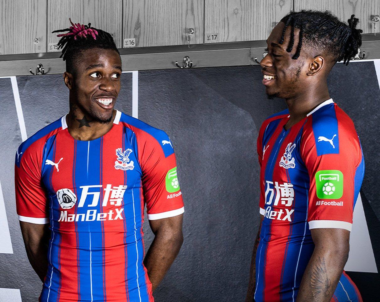 Camiseta titular Puma del Crystal Palace 2019/20 | Imagen Web Oficial