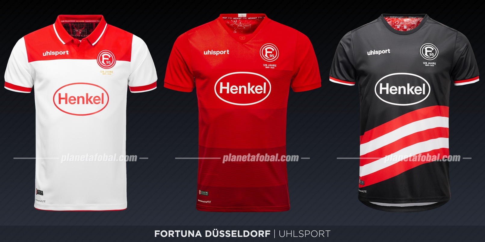 Fortuna Düsseldorf (Uhlsport) | Camisetas de la Bundesliga 2019-2020