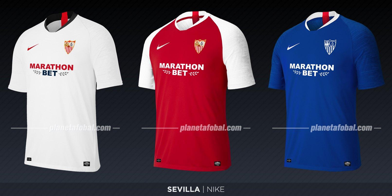 Sevilla (Nike) | Camisetas de LaLiga 2019-2020
