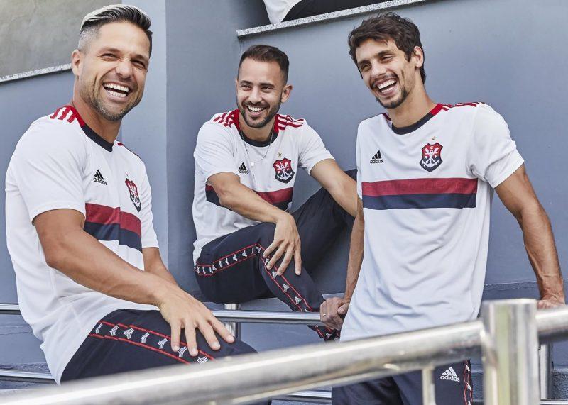 Camiseta suplente del Flamengo 2019/20 | Imagen Adidas