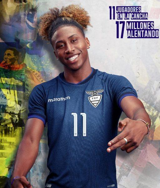 Camiseta alterna de Ecuador Copa América 2019 | Imagen Marathon