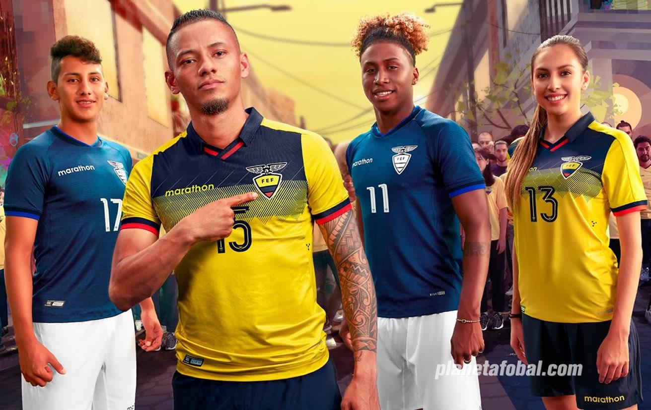 Camisetas de Ecuador Copa América 2019 | Imagen Marathon