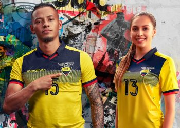 Camiseta de Ecuador Copa América 2019 | Imagen Marathon