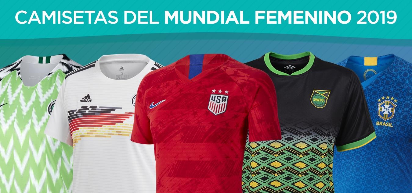 Todas las camisetas de la Copa del Mundo Femenina Francia 2019 | @planetafobal