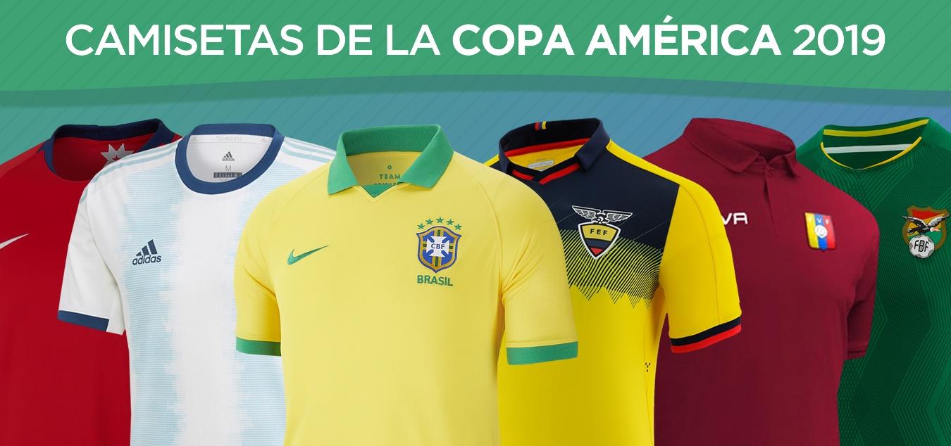 Todas las camisetas de la Copa América Brasil 2019 | @planetafobal
