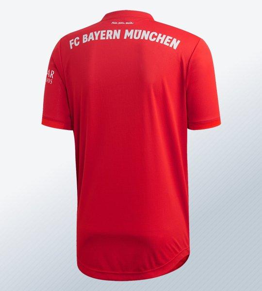 Camiseta titular del Bayern Munich 2019/2020 | Imagen Adidas